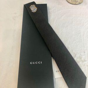 Brand New Gucci Tie - Green